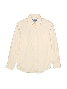Hickey Freeman Long Sleeve Button-Down Shirt Size 10