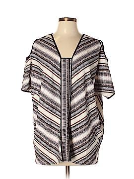 G by Giuliana Rancic Short Sleeve Blouse Size XL