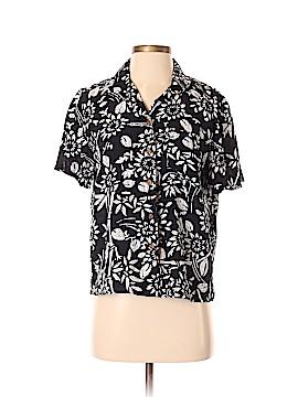 DressBarn Short Sleeve Button-Down Shirt Size S