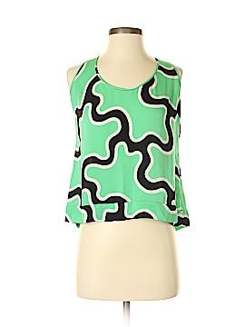 Diane von Furstenberg Sleeveless Silk Top Size 12