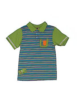 Deux Par Deux Short Sleeve Polo Size 6