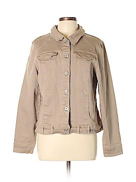 Gloria Vanderbilt Denim Jacket Size L