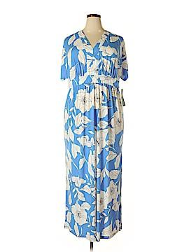 London Times Casual Dress Size 2X (Plus)