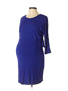 Three Seasons Maternity Casual Dress Size L (Maternity)