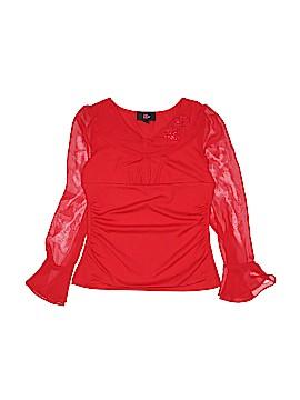 Iz Byer Long Sleeve Blouse Size 14