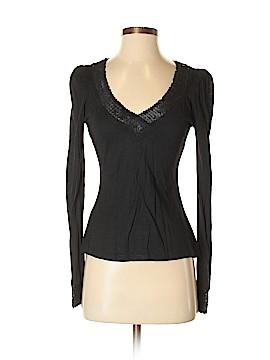 Diane von Furstenberg Long Sleeve Silk Top Size S