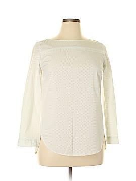 Gap Long Sleeve Blouse Size L (Petite)
