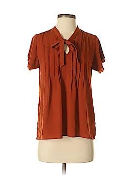 Lands' End Short Sleeve Blouse Size 2
