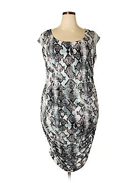 Jennifer Lopez Casual Dress Size 1X (Plus)