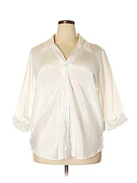 Studio 1940 3/4 Sleeve Blouse Size 24 (Plus)