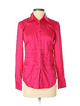 Antonio Melani Long Sleeve Button-Down Shirt Size XS