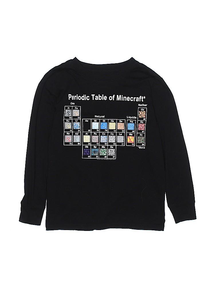 5cf4695a Mojang Graphic Black Long Sleeve T-Shirt Size M (Kids) - 65% off ...