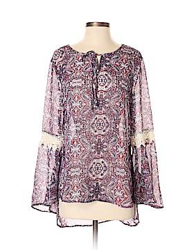 Como Vintage 3/4 Sleeve Blouse Size S