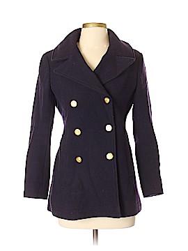 J. Crew Wool Coat Size 4 (Petite)