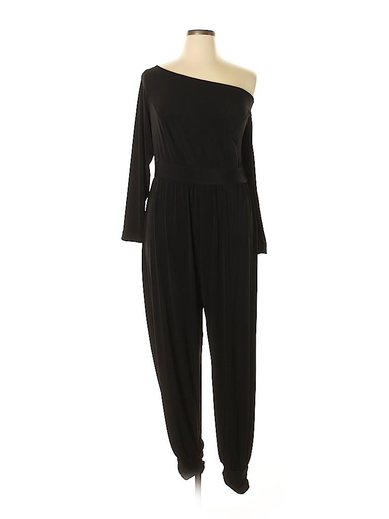 72fd26c2f2655 Monif C. Solid Black Jumpsuit Size 1 - 71% off