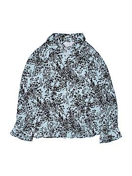 Jaclyn Smith Long Sleeve Silk Top Size 18 (Plus)