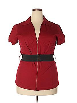 Goddess Short Sleeve Blouse Size 3X (Plus)