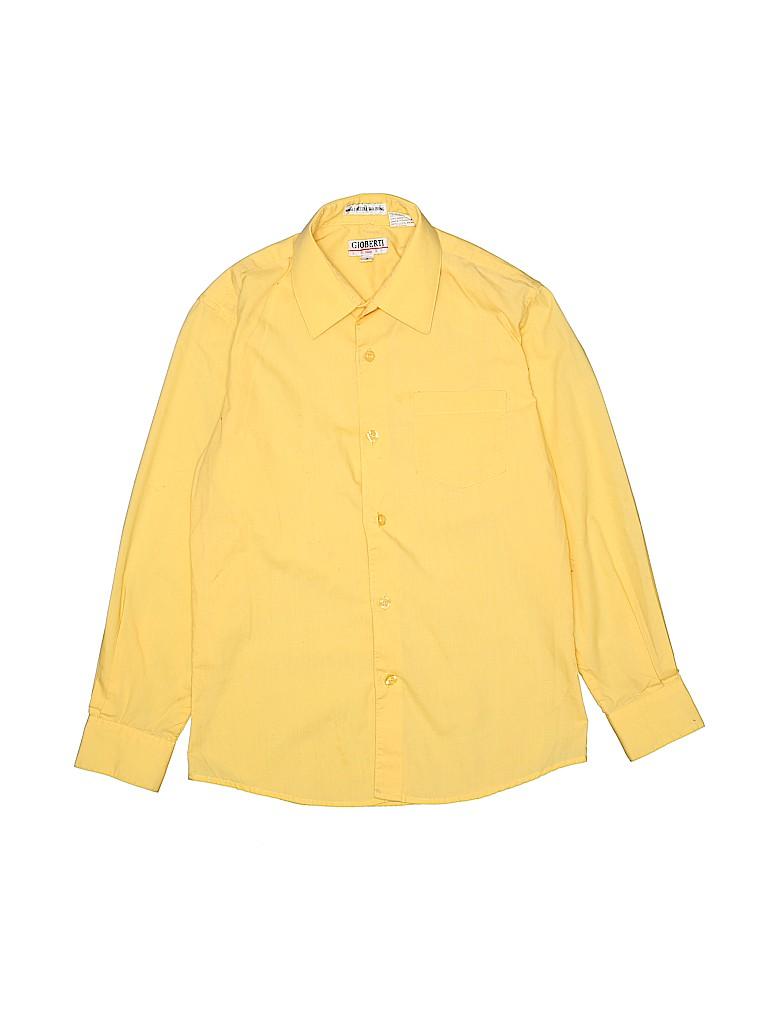 Gioberti Boys Long Sleeve Button-Down Shirt Size 8