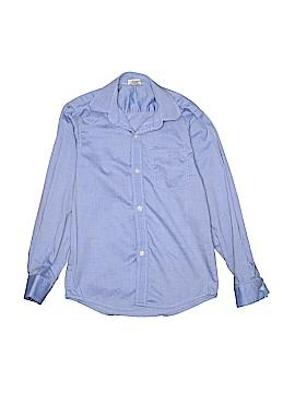 Jack Thomas Long Sleeve Button-Down Shirt Size 7