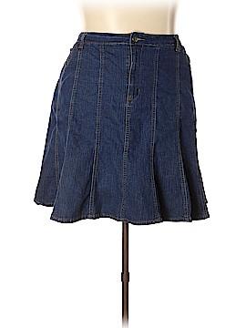 Jamie Nicole Collection Denim Skirt Size 24 (Plus)