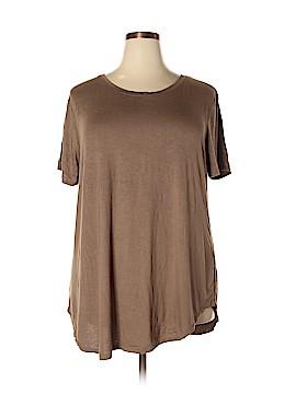 Zenana Outfitters Short Sleeve T-Shirt Size 3X (Plus)