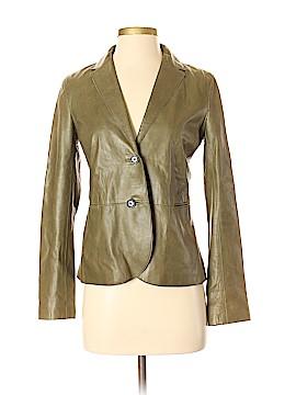Vince. Leather Jacket Size 4
