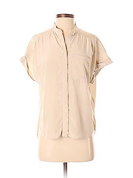 Paper Denim & Cloth Short Sleeve Silk Top Size XS