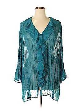 Maggie Barnes 3/4 Sleeve Blouse Size 18 (3) (Plus)