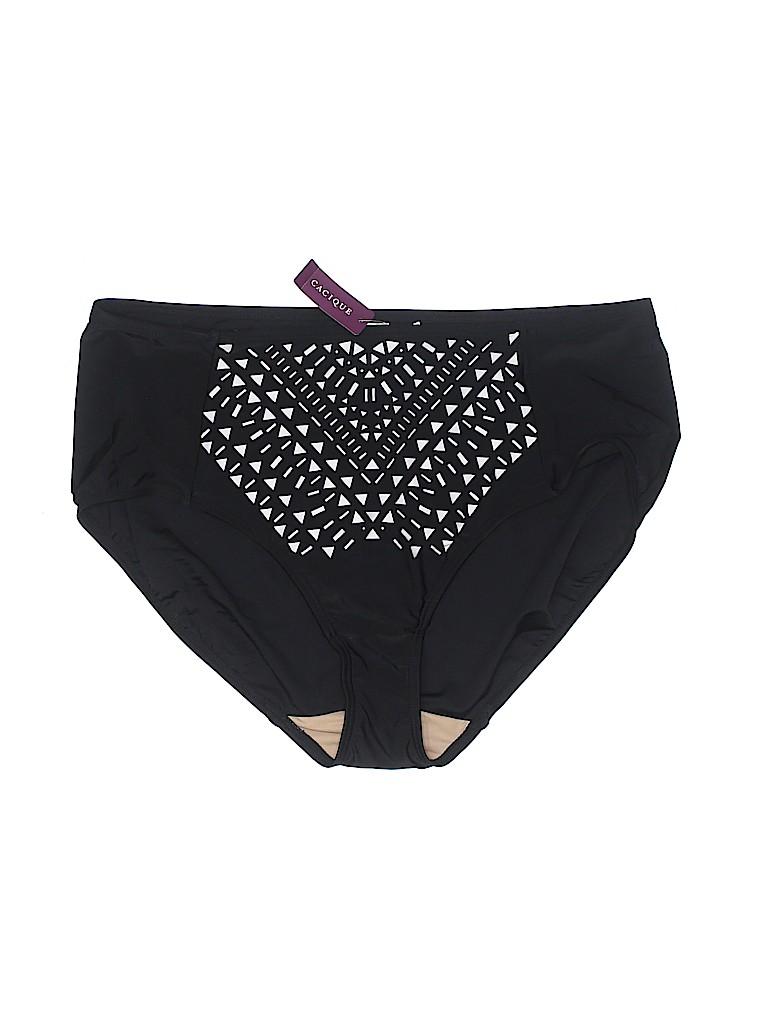 ac90f681f3 Swim by Cacique Solid Black Swimsuit Bottoms Size 18 (Plus) - 61 ...