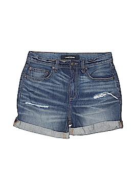 Lands' End Denim Shorts Size 6