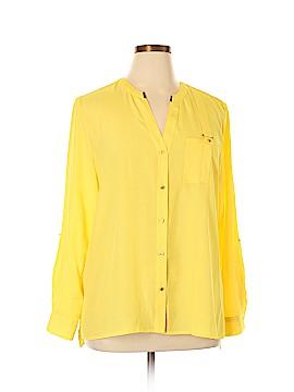 Anne Klein Long Sleeve Blouse Size XL