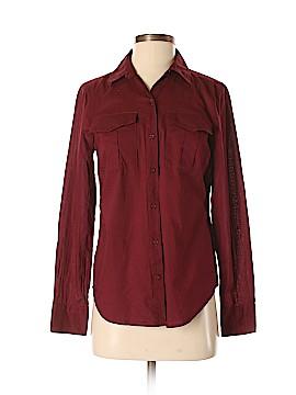Ann Taylor LOFT Outlet Long Sleeve Button-Down Shirt Size XS