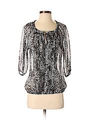 Express Women 3/4 Sleeve Blouse Size S (Petite)