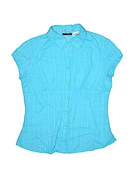 Jordache Short Sleeve Button-Down Shirt Size 7 - 8