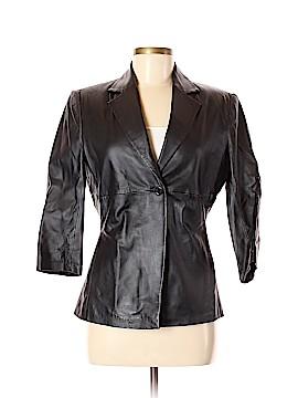 Newport News Leather Jacket Size 6