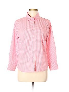 PETER MILLAR Long Sleeve Button-Down Shirt Size M
