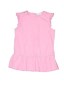 Marie Chantal Short Sleeve Blouse Size 12