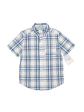 Carter's Short Sleeve Button-Down Shirt Size 5