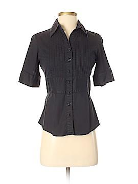 White House Black Market Short Sleeve Button-Down Shirt Size XS