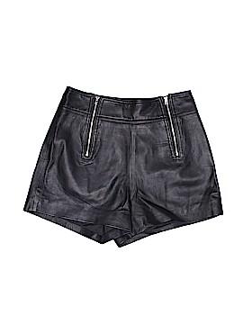 Bebe Leather Shorts Size 2