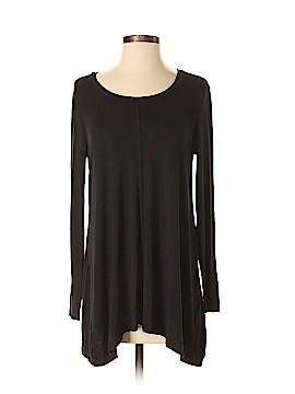 Joan Vass Long Sleeve T-Shirt Size S