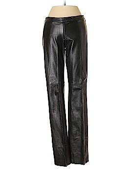 BCBGMAXAZRIA Faux Leather Pants Size 4