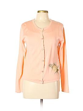 SILK CLUB COLLECTION Silk Cardigan Size L