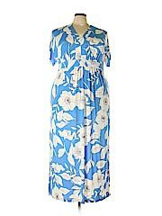 London Times Women Casual Dress Size 2X (Plus)