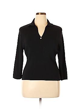 Debbie Morgan 3/4 Sleeve Top Size XL