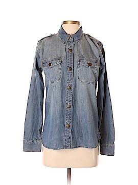 CAbi Long Sleeve Button-Down Shirt Size S