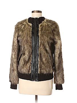 VERTIGO Faux Fur Jacket Size M