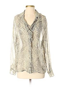 Pamela McCoy Long Sleeve Silk Top Size 1X (Plus)
