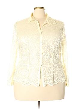 Venezia Long Sleeve Blouse Size 20 (Plus)