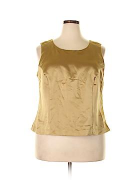 Jessica Howard Sleeveless Blouse Size 18 (Plus)